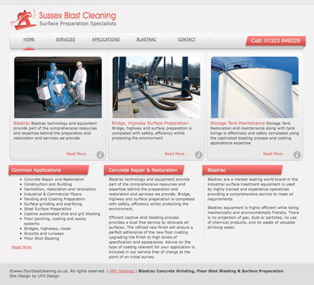 Website Artwork - Floor Cleaning