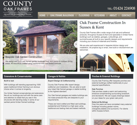 County Oak Frames - Oak Frame Buildings