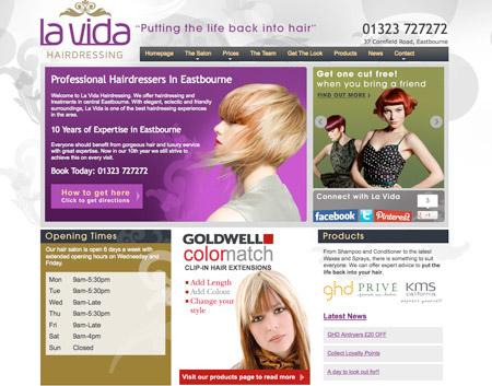 Website Artwork - Hairdressing