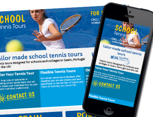 Tennis Tours – Website Design