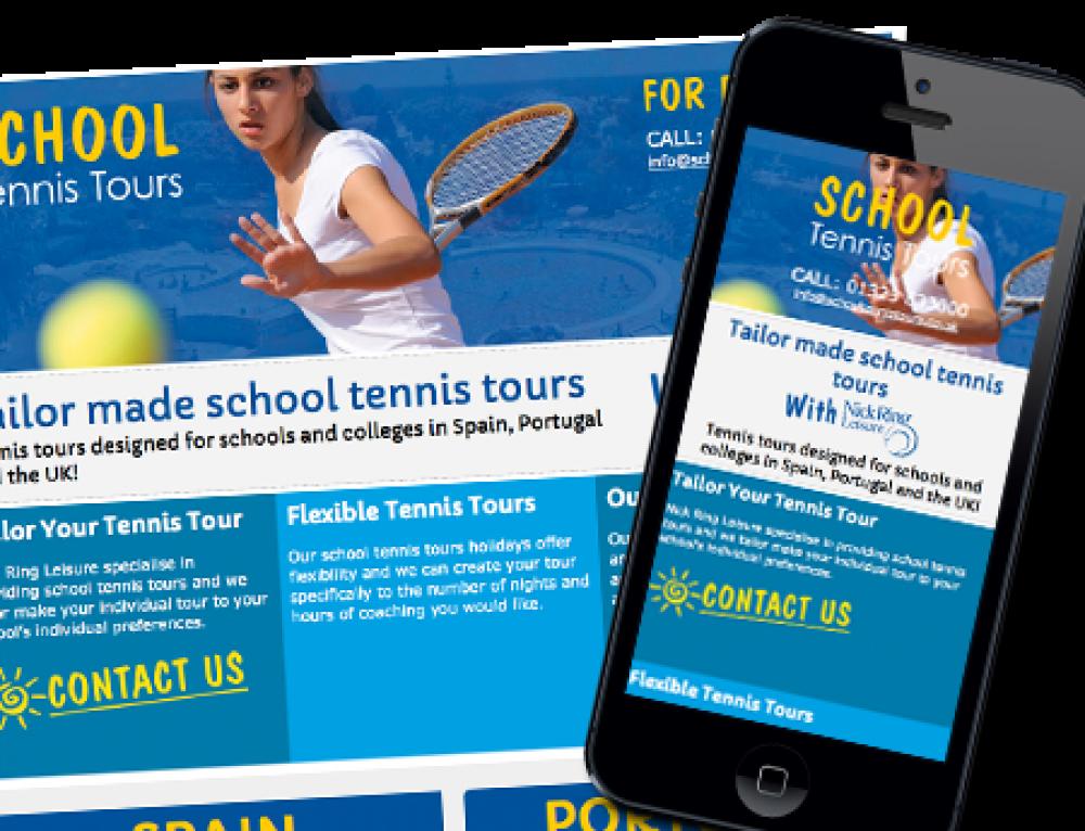 Tennis Tours – Website Design