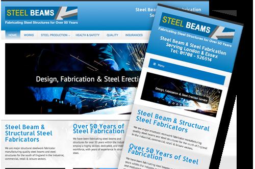 steelbeams_website_design