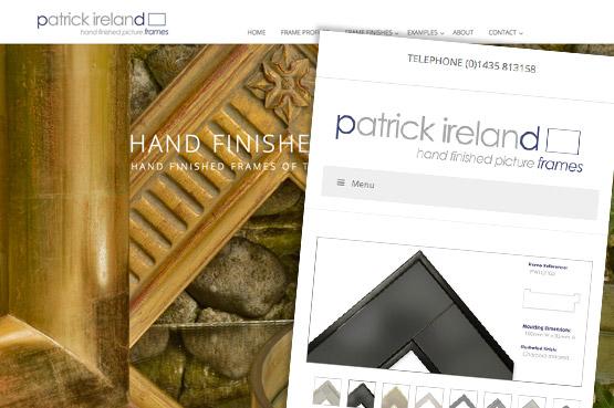 www.patrickirelandframes.com