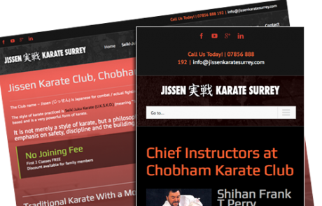 Jissen Karate Website