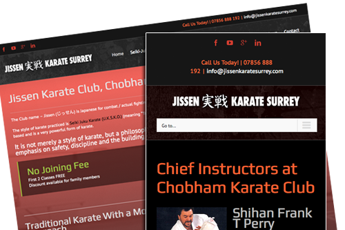 Jissen Karate Website