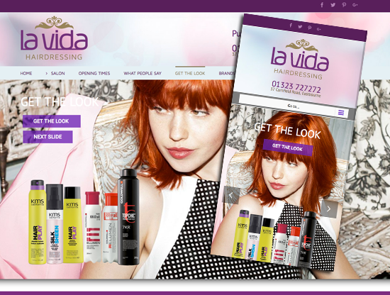Hairdressers Website